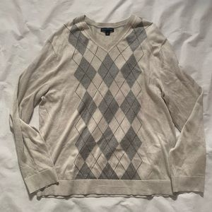 Banana Republic Size XL Sweater Checked